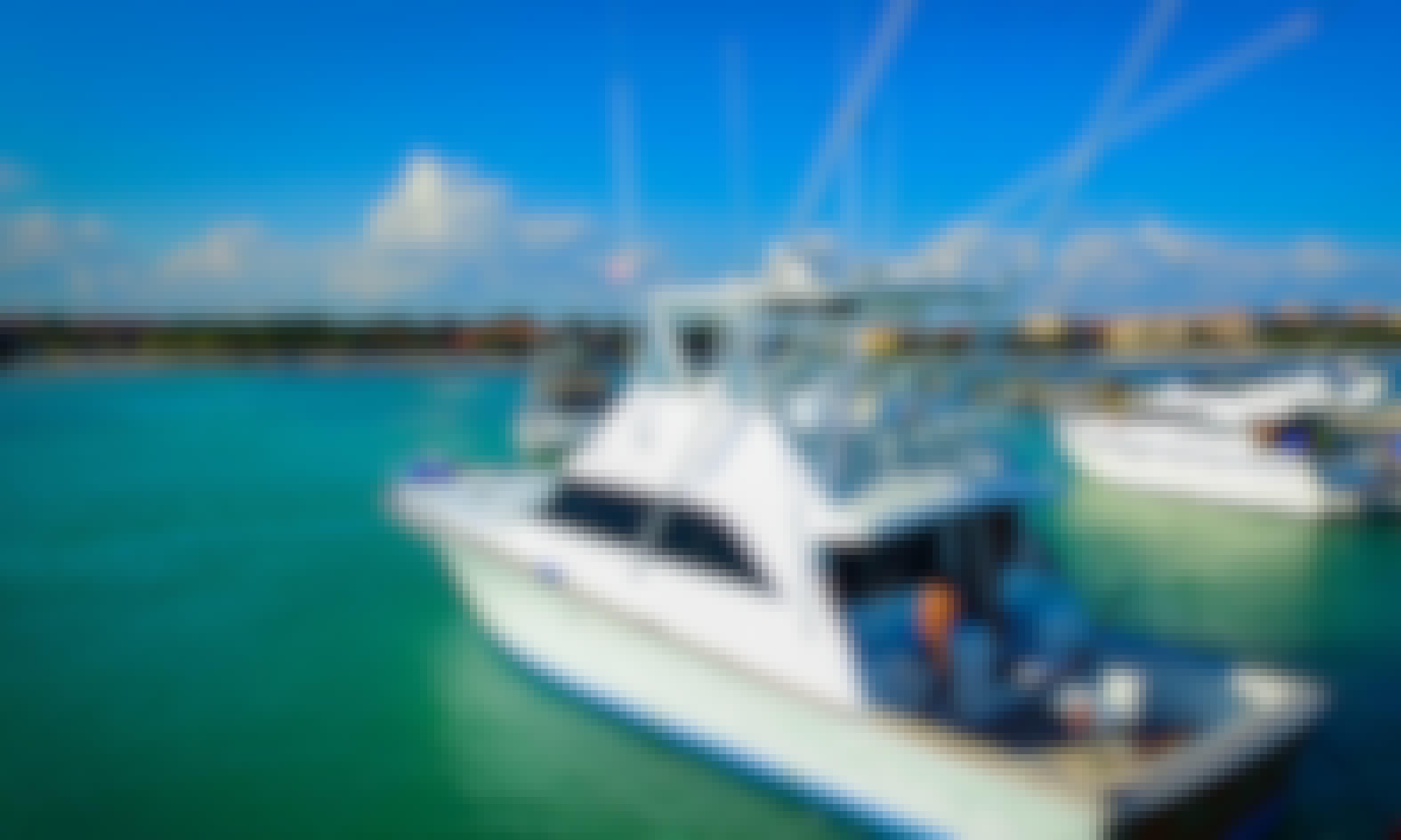 55' Sport Fisherman rental in Playa del Carmen