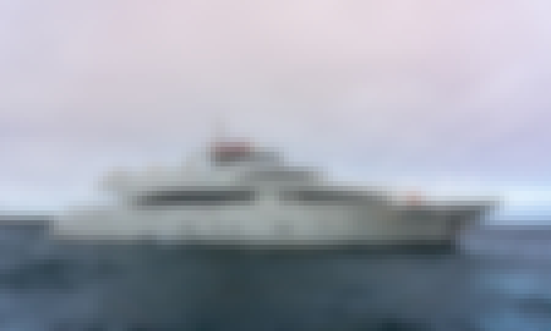 127' Grand Majestic Power Mega Yacht Charter in Galapagos Islands