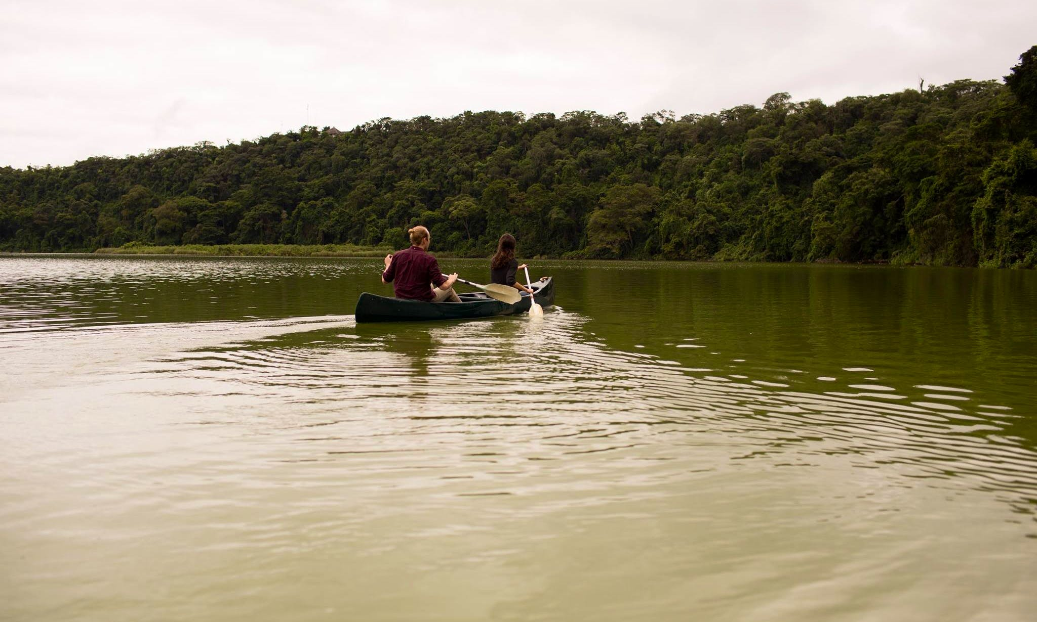 Canoe Safari Tour on Lake Duluti in Arusha Region