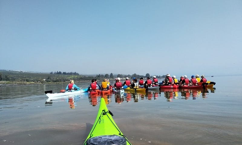 Enjoy A Unique Kayaking Tour In The Sea Of Galilee