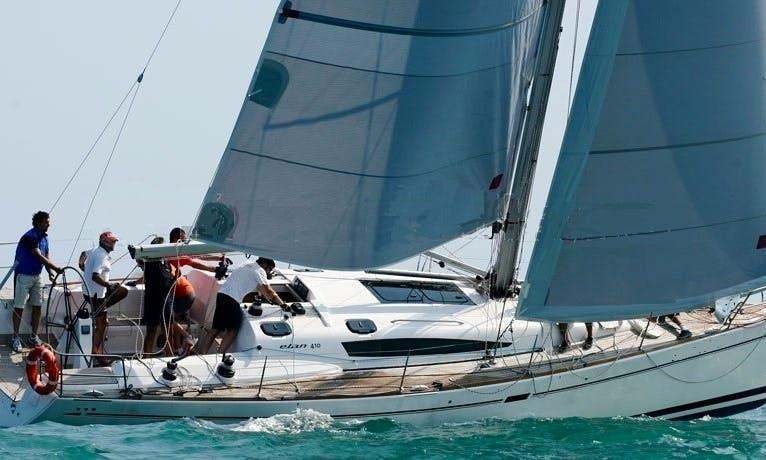 Elan 410 Sailing Yacht for charter