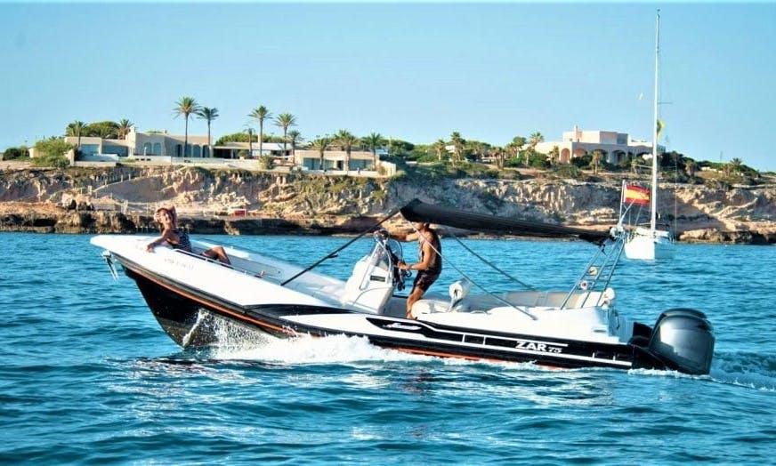 2007 ZAR 75 RIB Rental In Eivissa, Spain