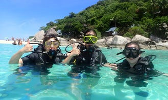 One Day Diving Tour in Samui For Beginners!