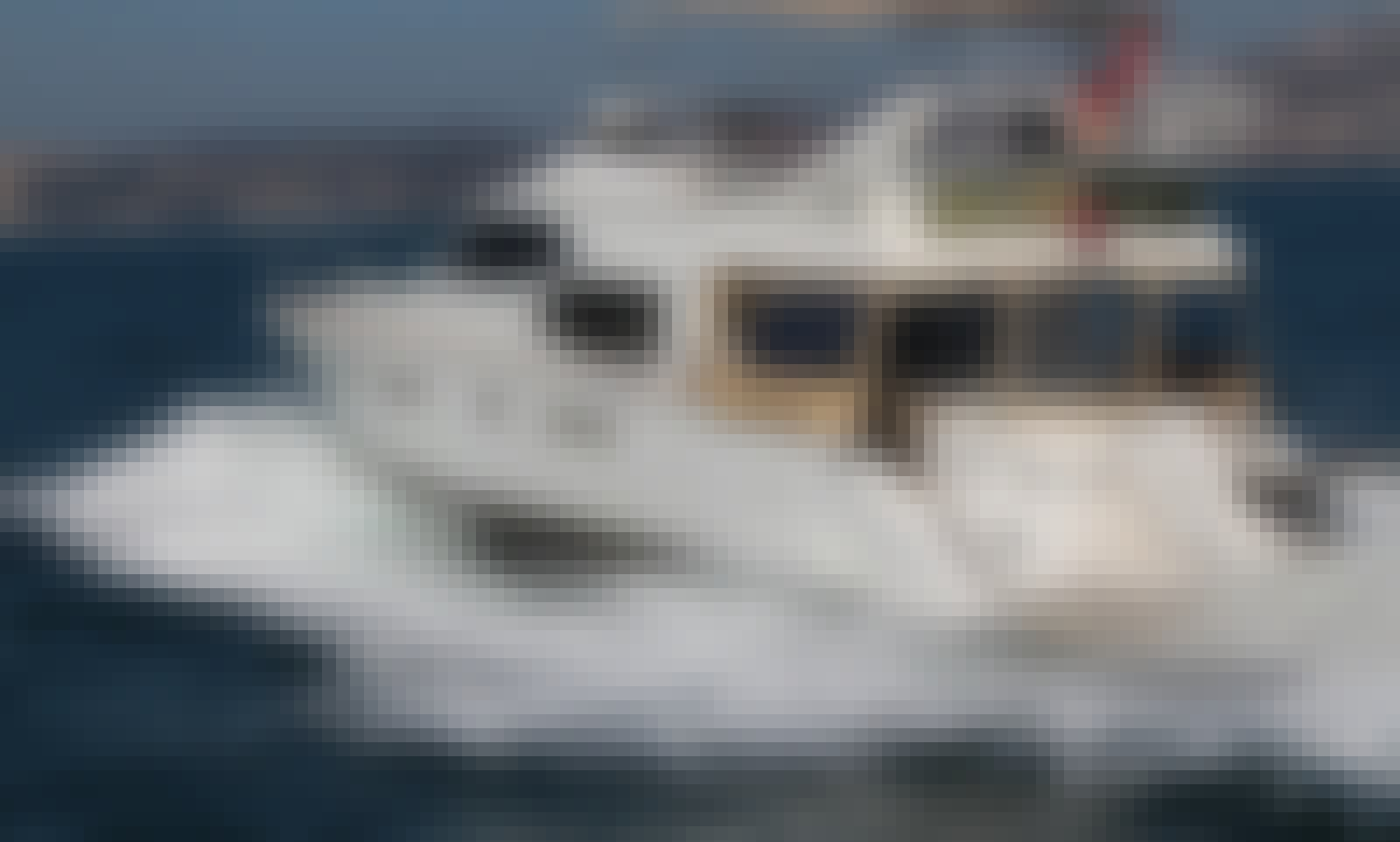 70' Power Mega Yacht Charter in İstanbul, Turkey