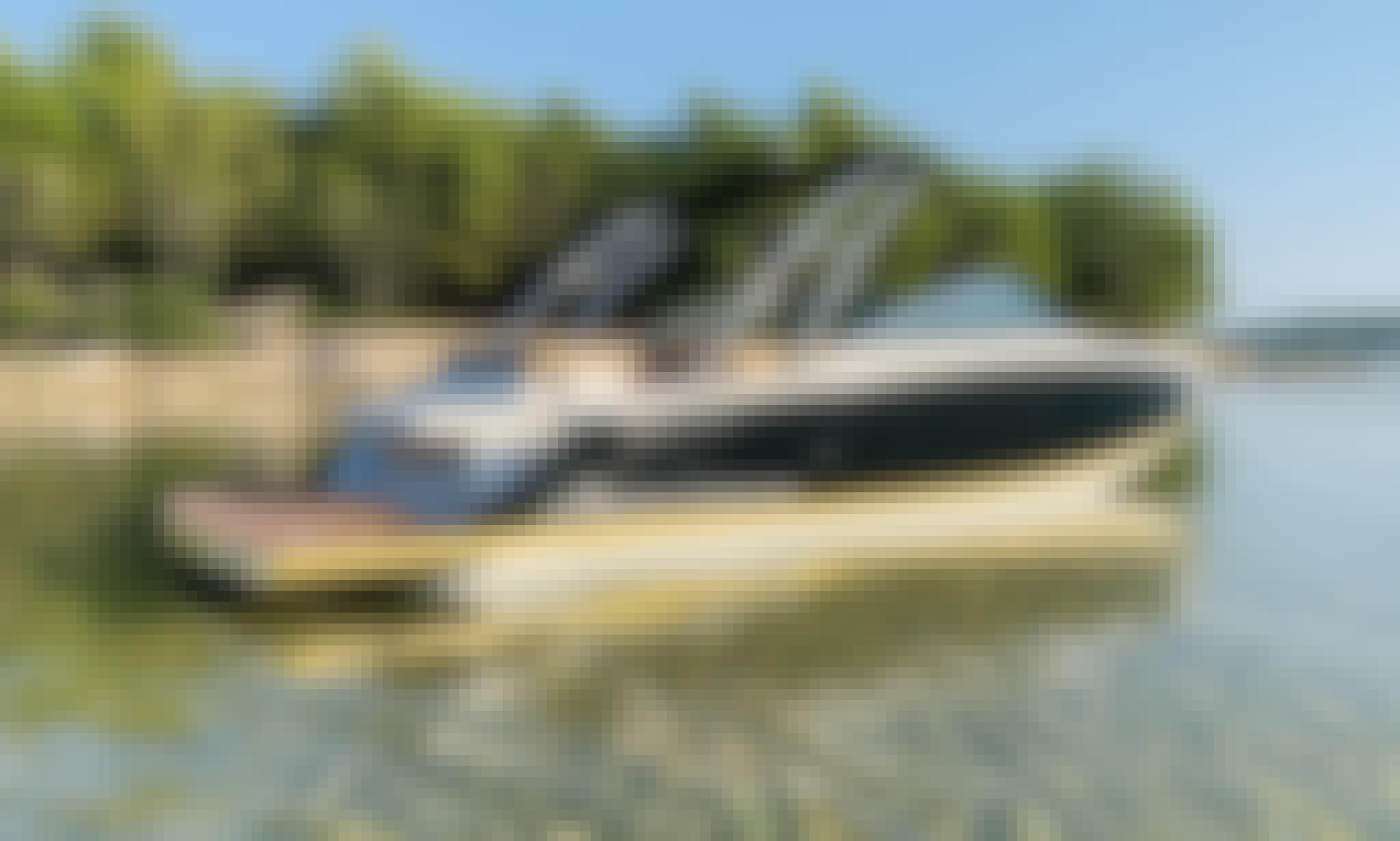 Four Winns 242SL Bowrider Rental in Obala kneza Branimira, Zadar