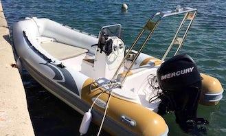 Italboats Predator 490 RIB Rental in Obala kneza Branimira, Zadar