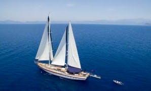 Deluxe Gulet Nautilus charter in Fethiye / Tuyrkey