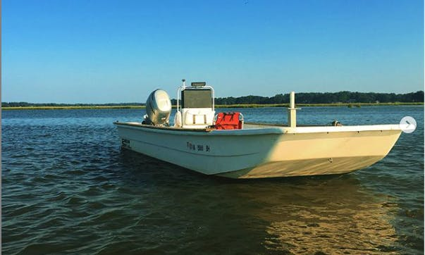 24 ft Carolina Skiff DLX in Virginia Beach lynnhaven inlet/ Broad Bay