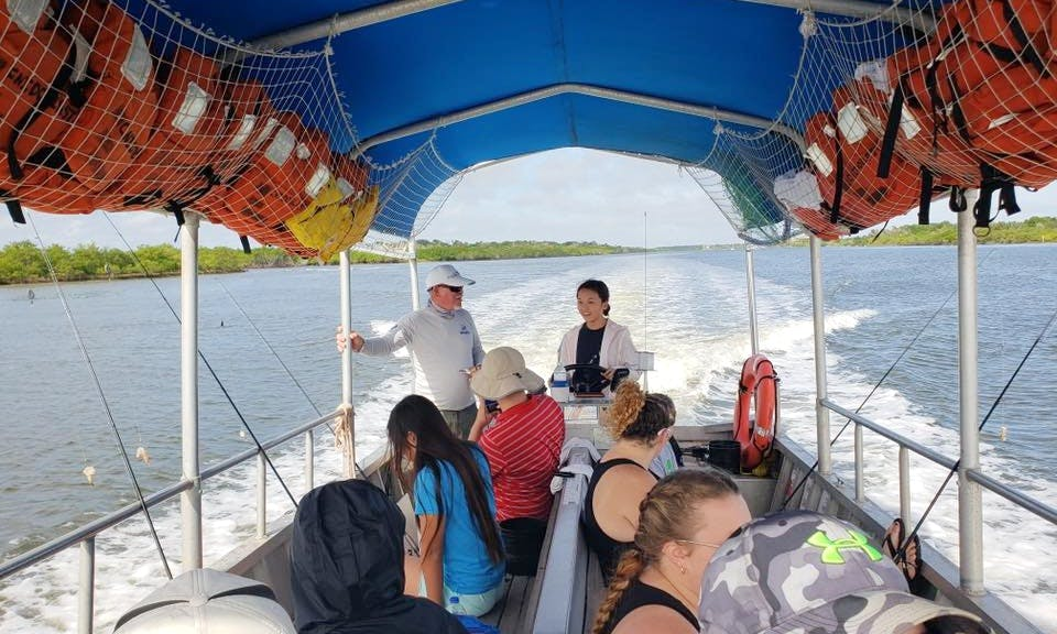 Exciting Guided Fishing Charter for 10 People in Ponce Inlet