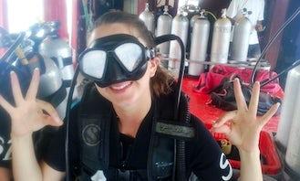 PADI Open Water Diver course in Samui