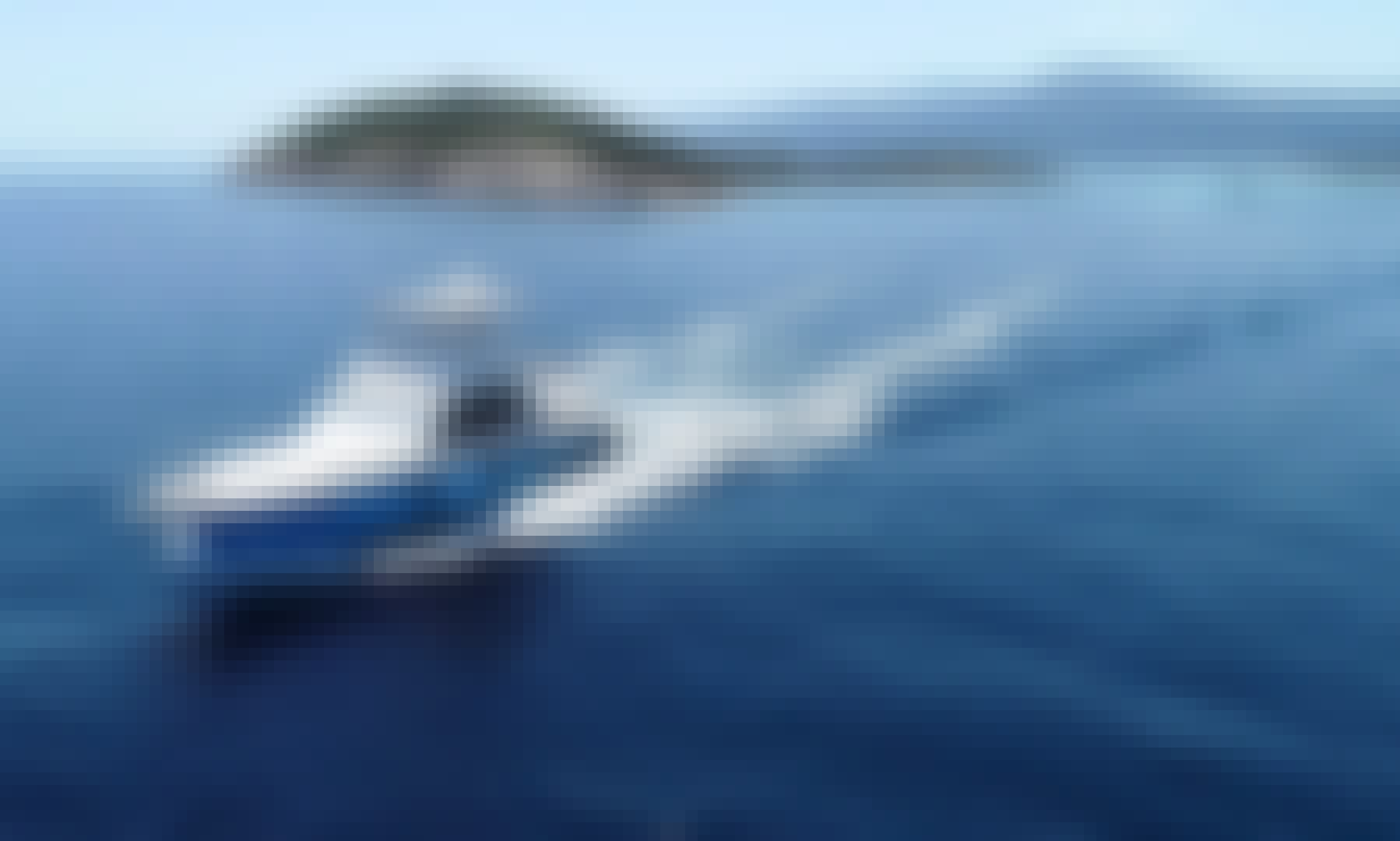 Enjoy a private cruise or a fishing trip in Halkidiki, Greece on a 50' ft Bertram Luxury Yacht