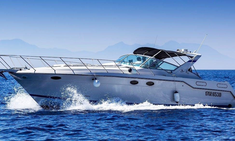 Motor Yacht rental in Castellabate