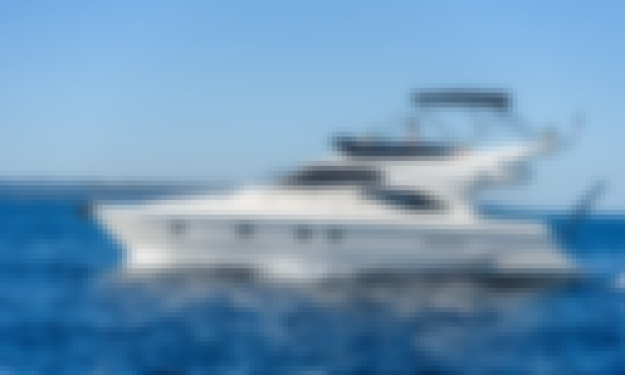 Ferretti 430 Fly Motor Yacht Available for Charter in Split or in Hvar, Croatia