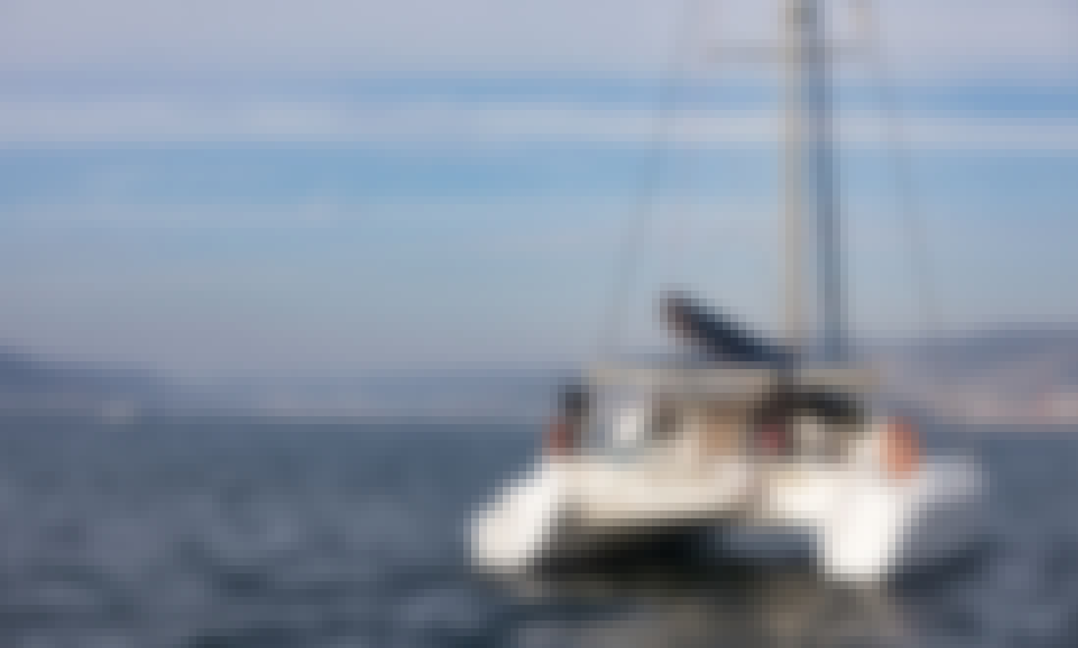 GOLDO, the dream catamaran for rent to sail Galicia, Spain