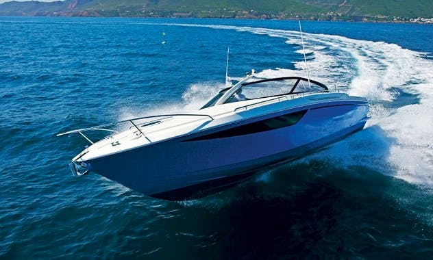 Baia one 43 Sport Motor Yacht Charter In Vallauris, France