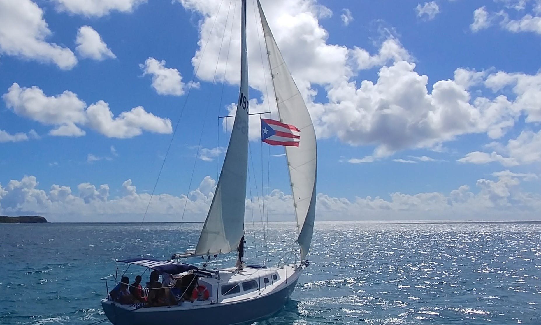 Sail, Snorkel, and Escape aboard SV Marauder with Vieques Sailing Charters!