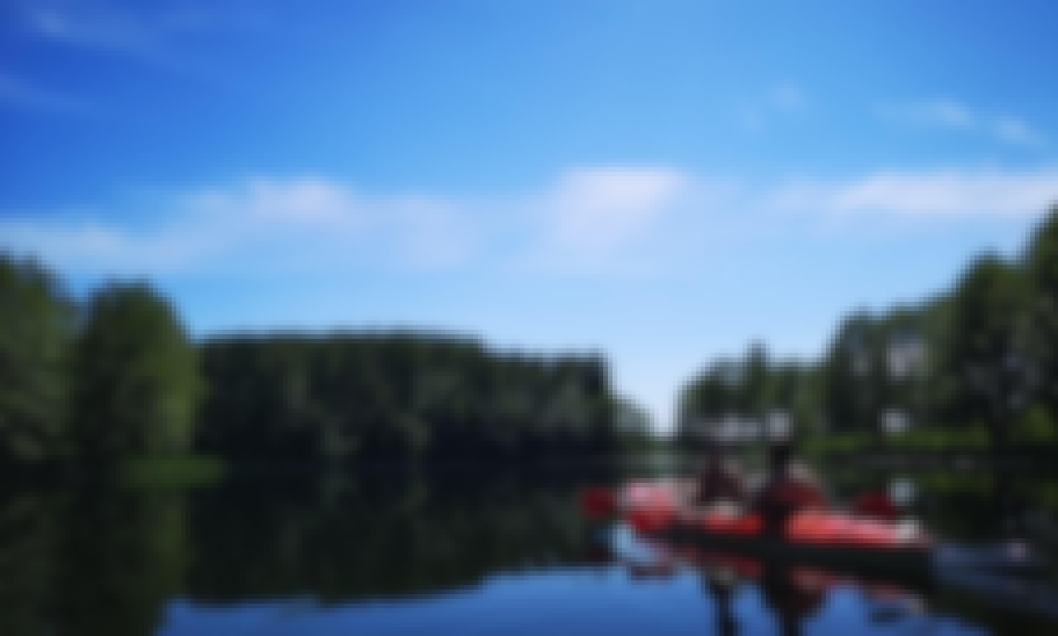 Experience a Kayaking Adventure in Palūšė, Utenos apskritis