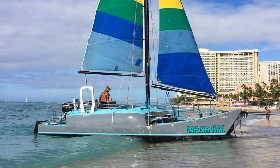 Sailing Catamaran Cruises in Waikiki, Honululu