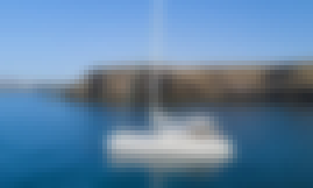 Enjoy the Ocean on our Comfortable Catamaran in Puerto Calero, Canarias