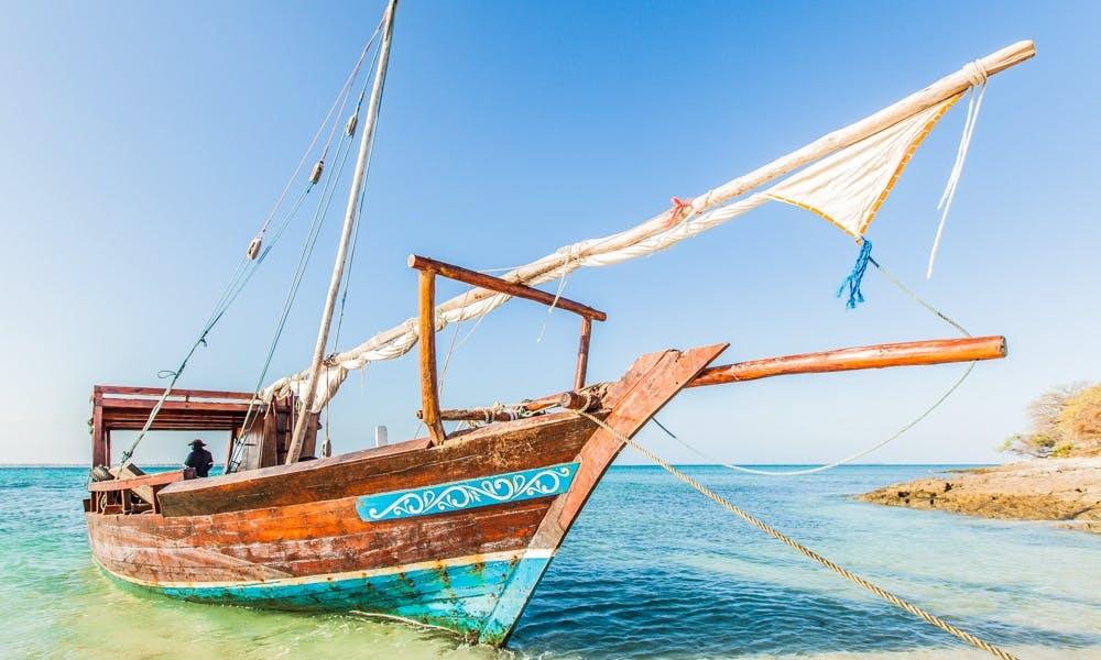 Zanzibar Local Dhow