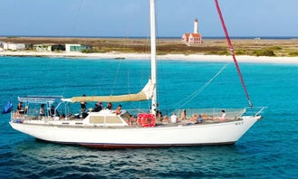 Casador Yacht 68ft Available for Overnight and Day Trips Klein Curacao,go west etc.cruiseship pickup possible