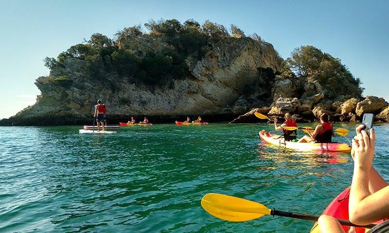 Book A Kayak Trip By The Sea In Costa da Caparica, Portugal
