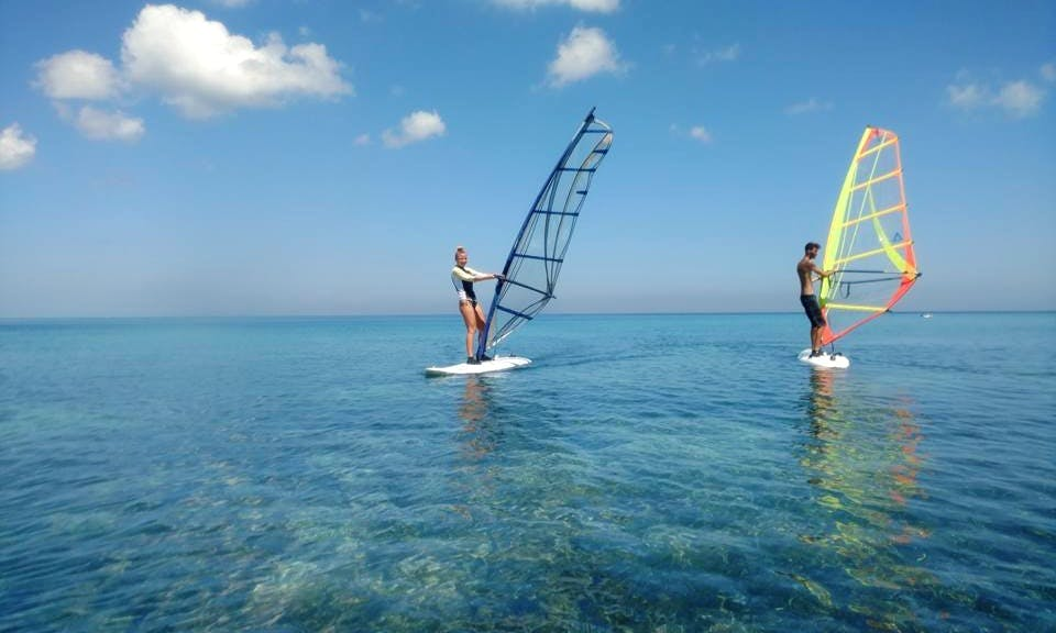 Windsurfing in La Habana