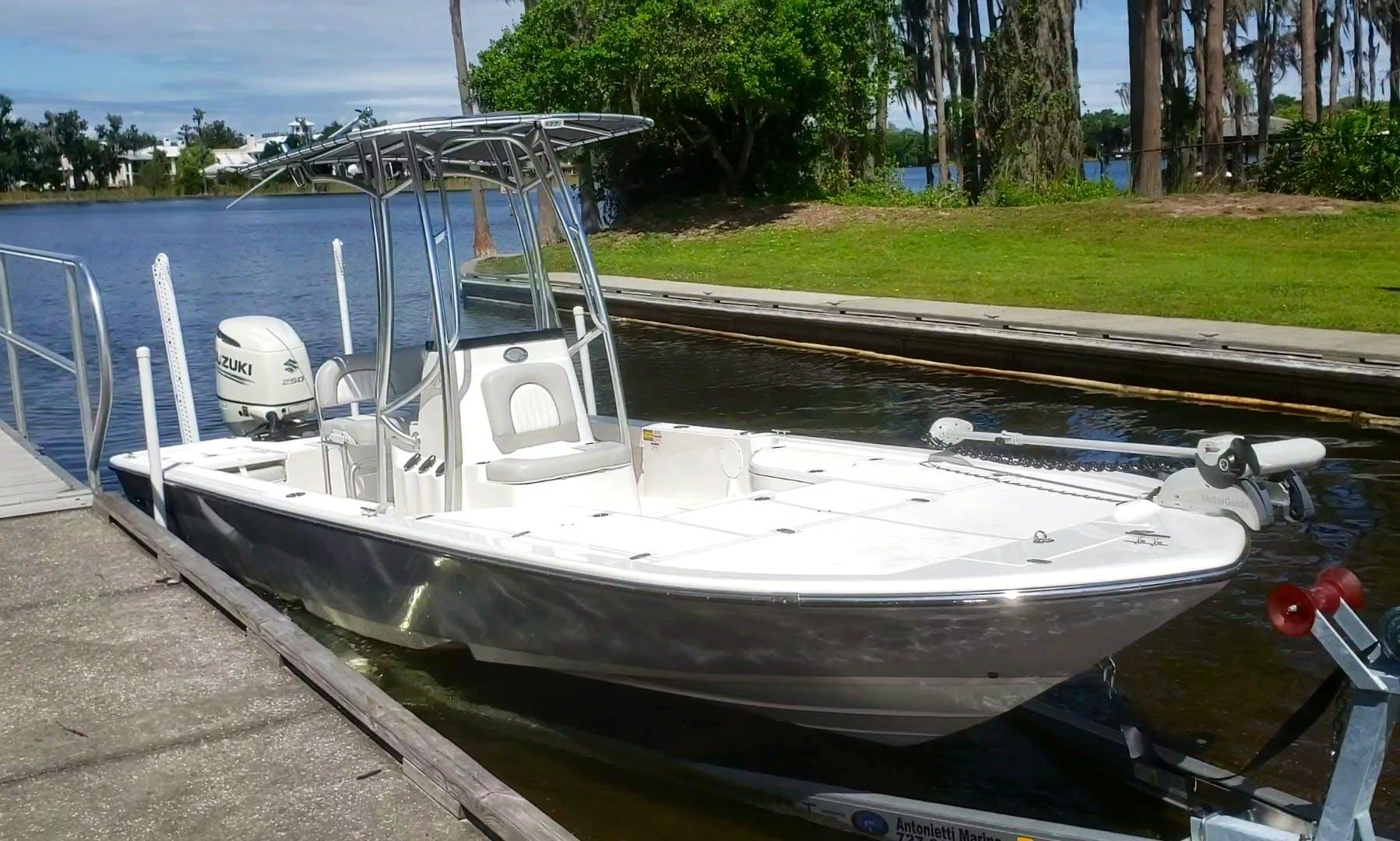Sea Born FX24 Center Console Fishing Boat Rental in Windermere, Florida