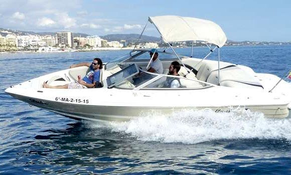Rent a 9-Person Mariah SX21 Bowrider in Marbella, Spain