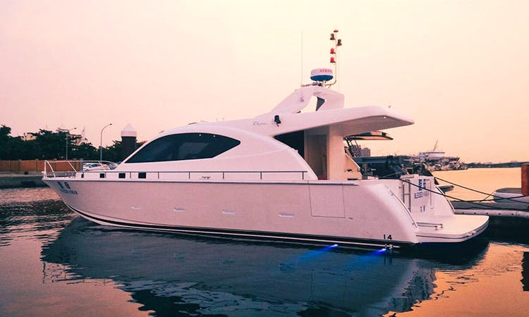 51' Party Yacht for 30 people at Hualien Port, Taiwan