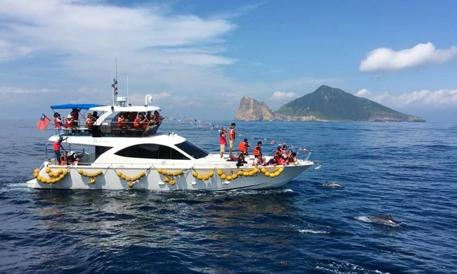 51' Luxury Yacht for 20 people at Yilan Wushih Harbor, Taiwan