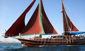 Enjoy a Weekly Full Board Included Gulet Cabin Charter in Antalya, Turkey