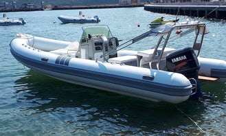 16-Person Clubman 24 RIB Available for Rent in Cannigione, Italy