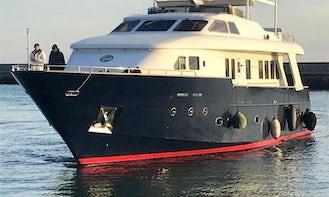 Elegant 83 ft Benetti Motor Yacht Charter in Castellammare di Stabia, Italy