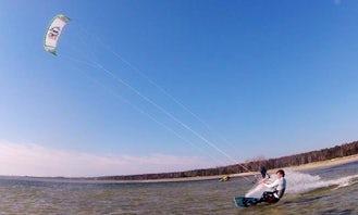 Kitesurfing Lessons in Jastarnia