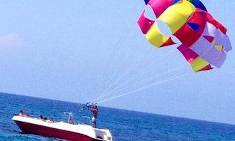 Parasailing Ride in Kyrenia, North Cyprus