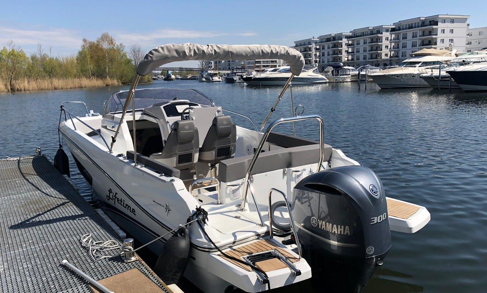 24 ft Cap Camarat 750 Deck Boat for Rent in Urbanització Montferrutx, Spain