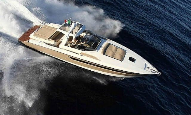 Captained Charter in Portofino, Italy Aboard a Seacube 43 Motor Yacht for 10 Guests