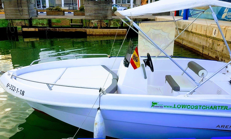 Book the Dubhe Arena Boat In La Pobla de Farnals, Spain