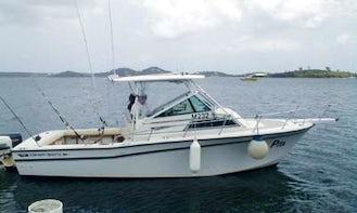 Deep Sea Fishing Charter in St. Maarten with Captain Rudy