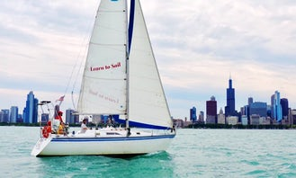 Private Cruise onboard Hunter Legend Sailboat in Chicago