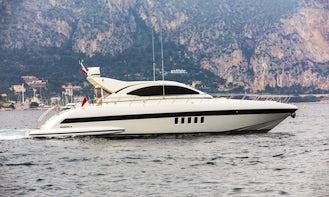 2009 Mangusta 72 Motor Yacht Charter with Captain in Monaco