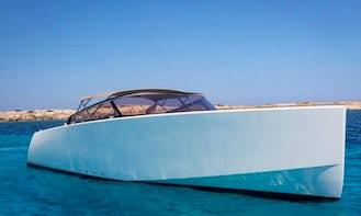 2010 VAN DUTCH 40 Cuddy Cabin Charter for Up to 16 Guests in Monaco