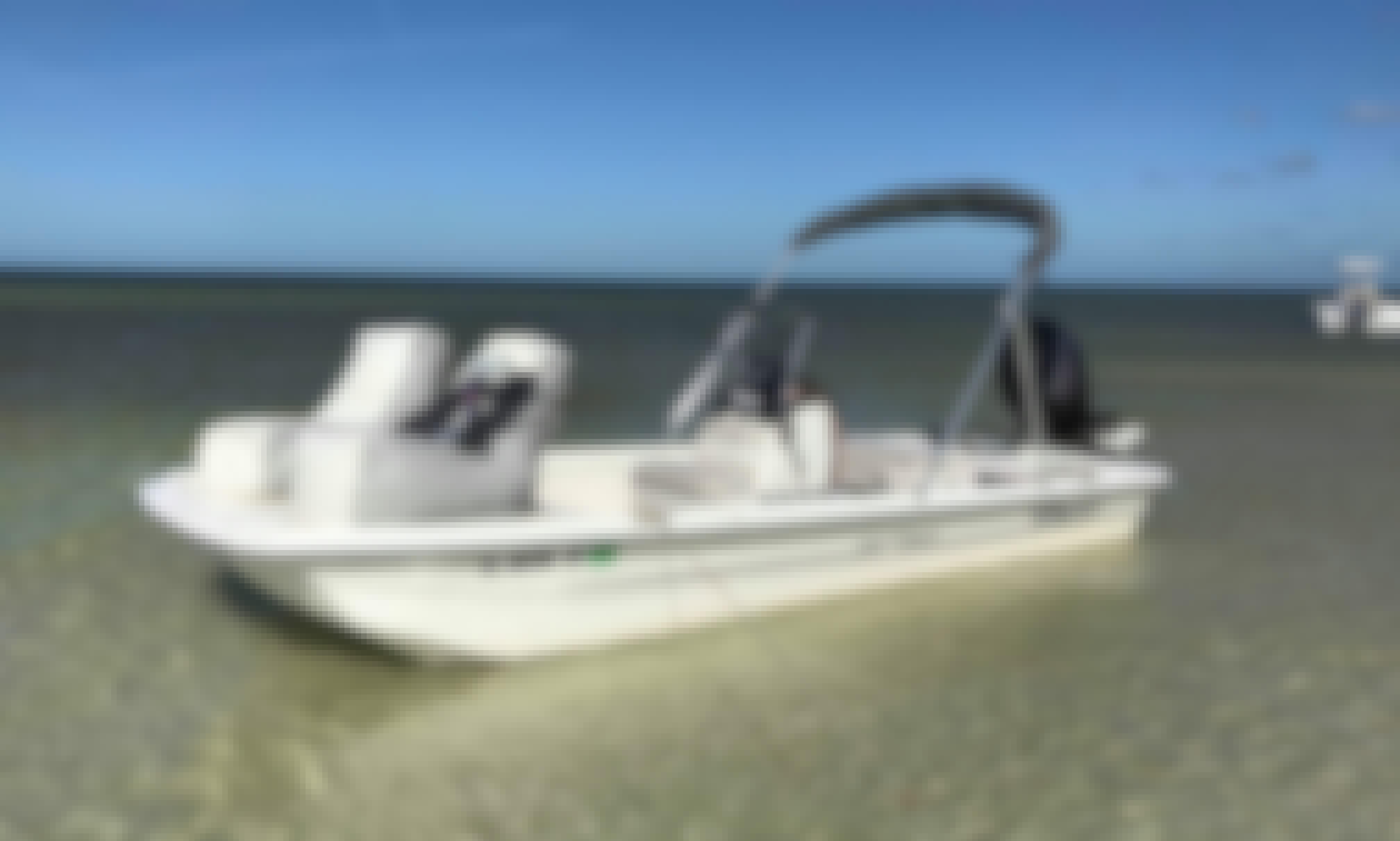 Inshore Cruise, Shelling, Fishing in Clearwater, Florida Aboard a Mako pro 17