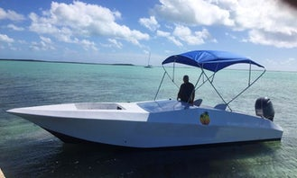 25' Chamcem Boats Supreme - Private Powerboat Tour in Mangrove Bush Settlement