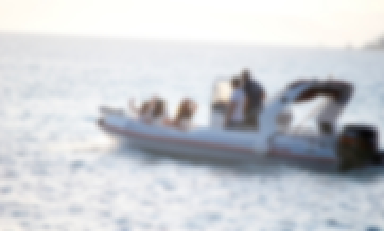 8-Peron RIB for Rent  in Naxos, Grecce