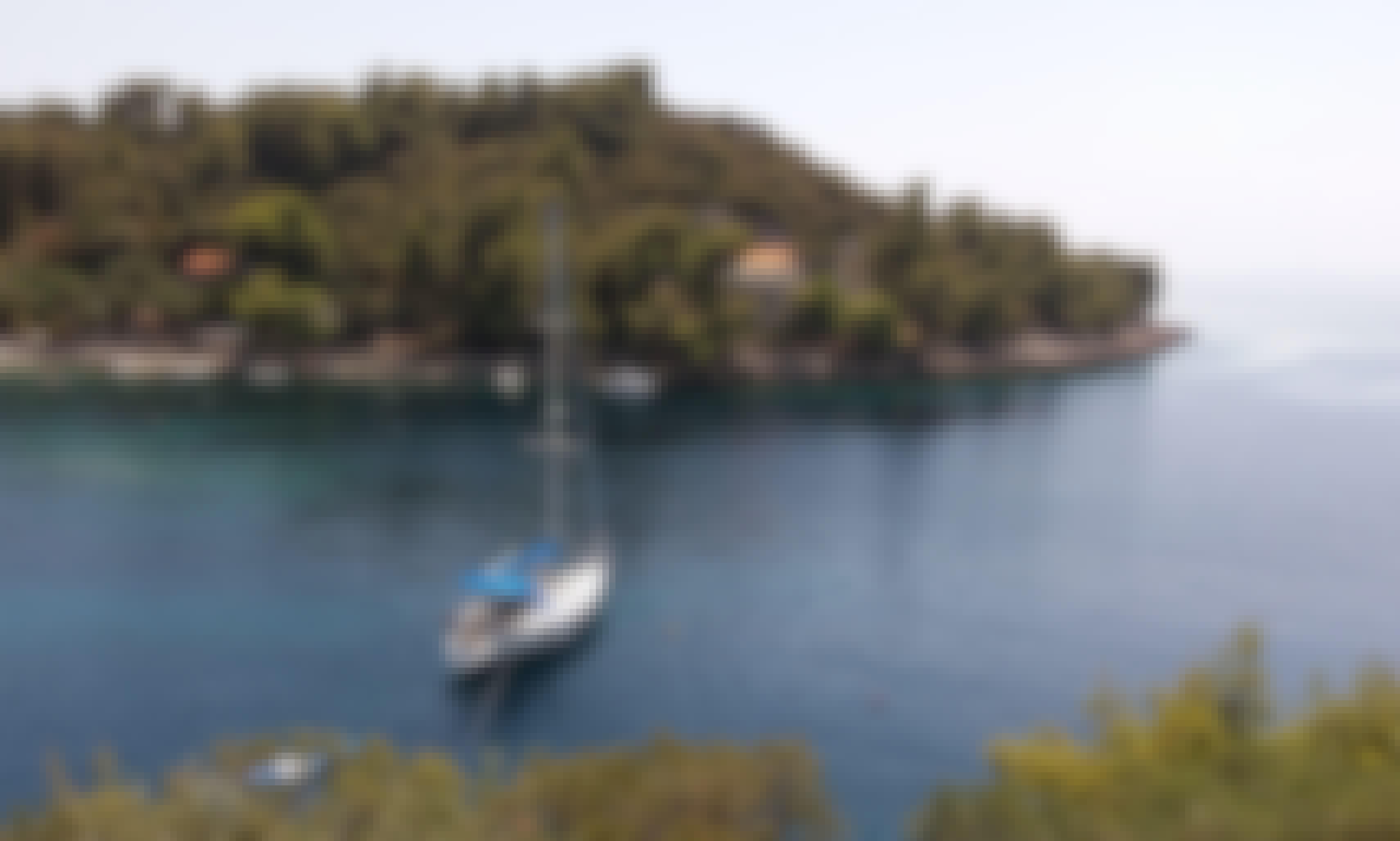7 person sailboat rental in Split