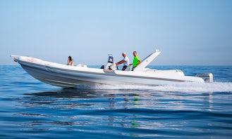Bat 996 Open Speedboat RIB rental in Trapani