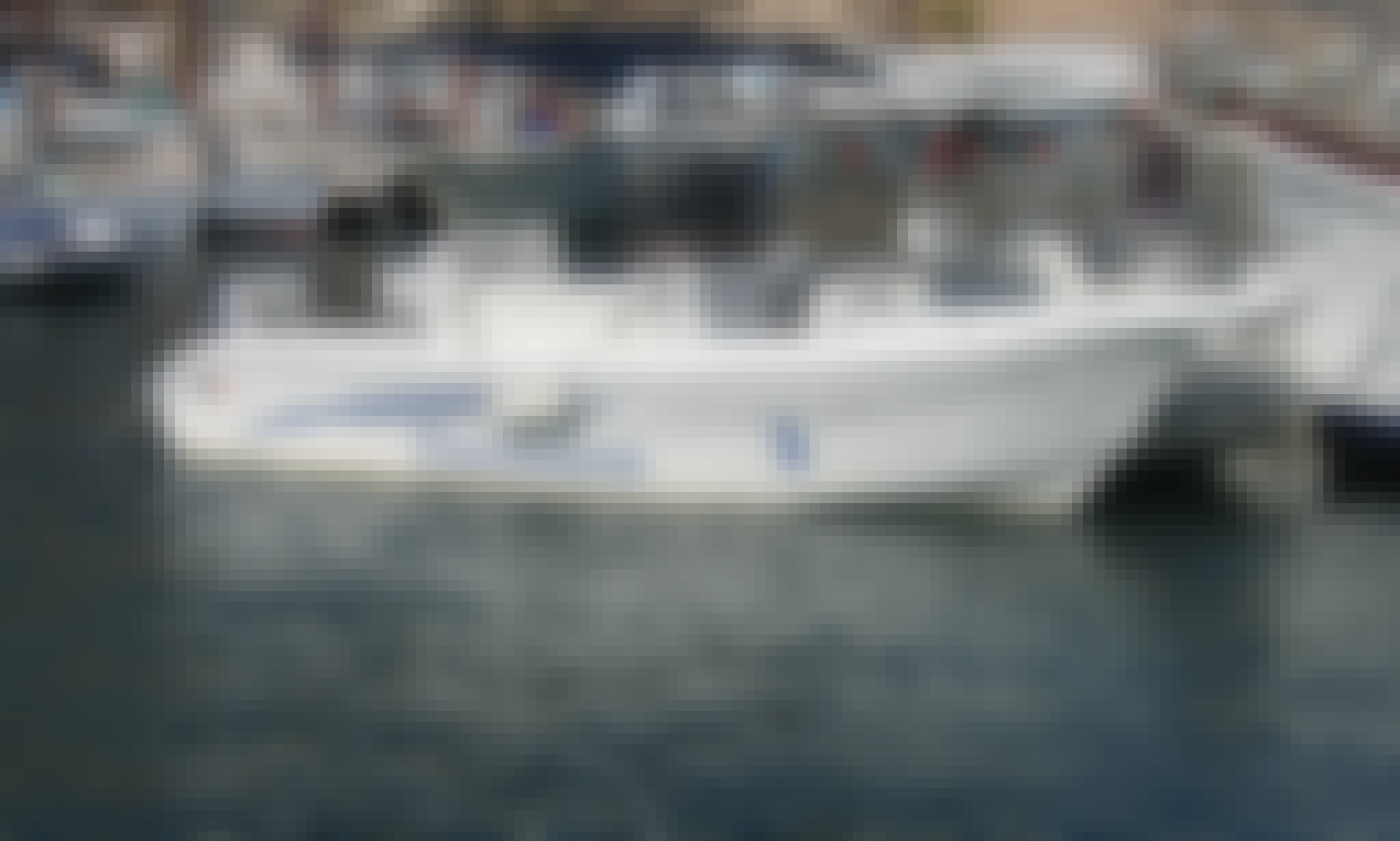"Rent ""Hull"" Power Boat for 7 People in Castro, Puglia"