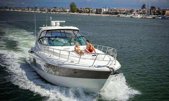 52' ft Cruiser Yacht for 12 Guests in Newport Beach, California